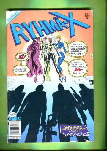 Ryhmä-X 1/92 (X-Men)