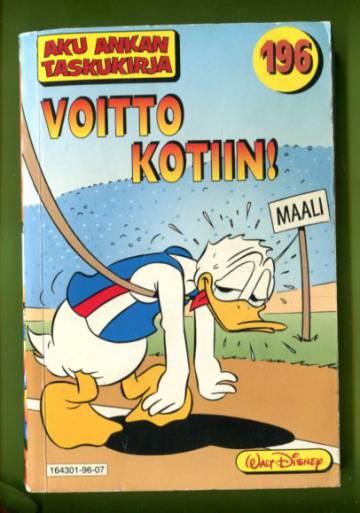 Aku Ankan taskukirja 196 - Voitto kotiin!