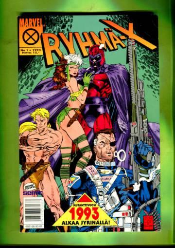 Ryhmä-X 1/93 (X-Men)