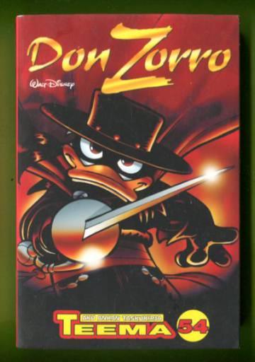 Taskarin teemanumero 54 - Don Zorro (Aku Ankan taskukirja)