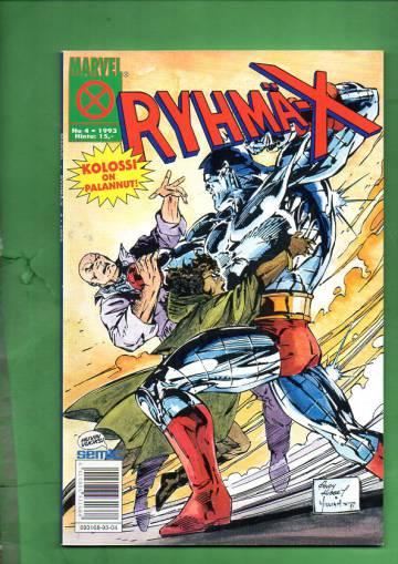 Ryhmä-X 4/93 (X-Men)