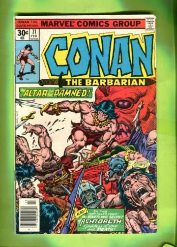 Conan the Barbarian Vol 1 #71 Feb 77