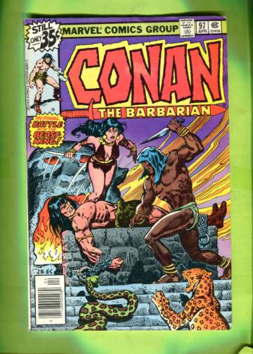 Conan The Barbarian Vol 1 #97 Apr 79