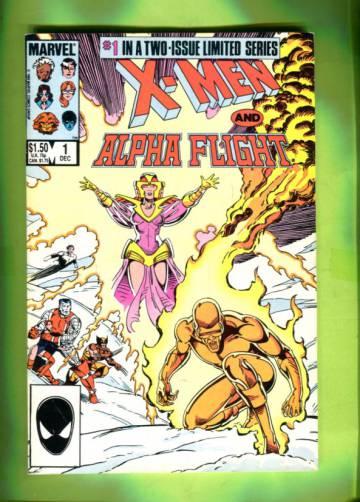 X-Men / Alpha Flight Vol 1 #1 Dec 85
