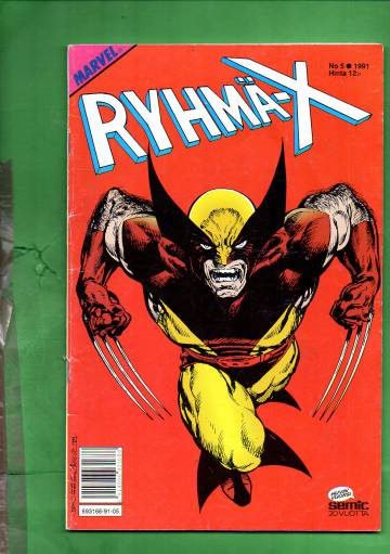 Ryhmä-X 5/91 (X-Men)