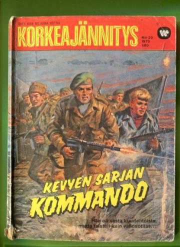 Korkeajännitys 20/73 - Kevyen sarjan kommando