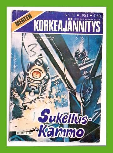 Merten Korkeajännitys 12/81 - Sukelluskammo