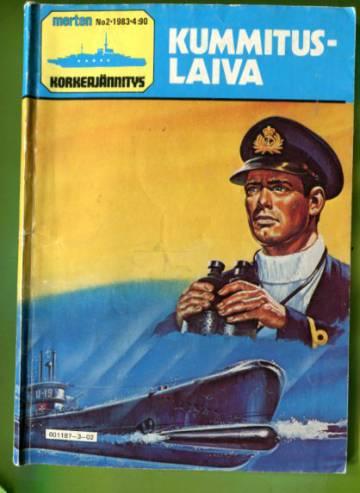 Merten korkeajännitys 2/83 - Kummituslaiva