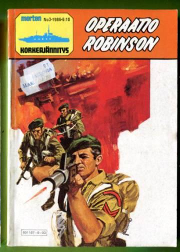 Merten korkeajännitys 3/86 - Operaatio Robinson