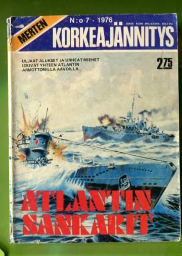 Merten korkeajännitys 7/76 - Atlantin sankarit