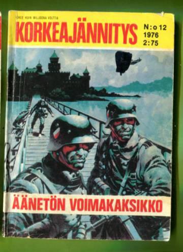 Korkeajännitys 12/76 - Äänetön voimakaksikko