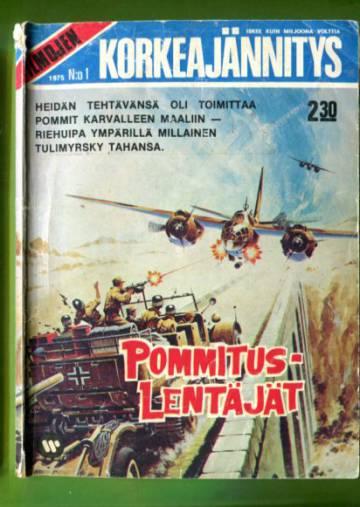 Ilmojen Korkeajännitys 1/75 - Pommituslentäjät