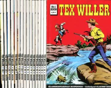 Tex Willer -vuosikerta 2009 (1-16/09)