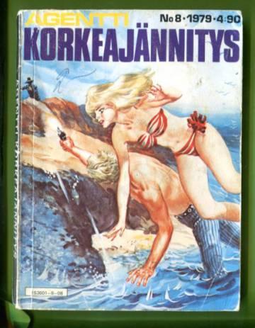 Agentti-Korkeajännitys 8/79