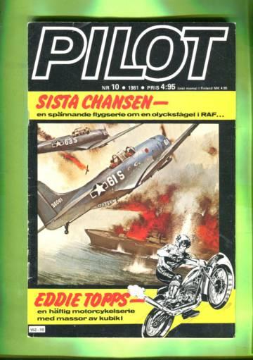 Pilot 10/81 (ruotsinkielinen)