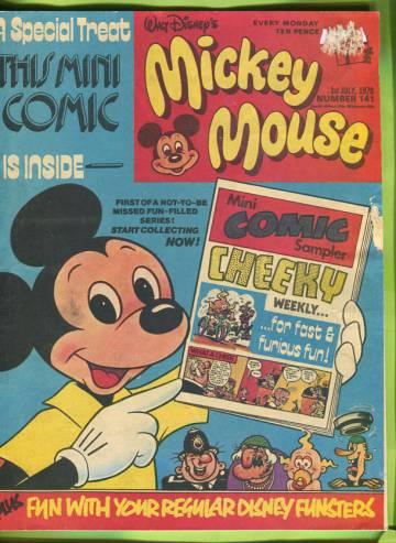 Walt Disney´s Mickey Mouse #141 Jul 78