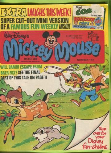 Walt Disney´s Mickey Mouse #142 Jul 78