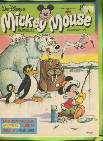 Walt Disney´s Mickey Mouse #162 Nov 78