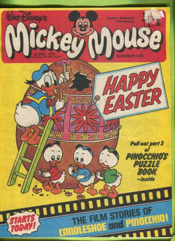 Walt Disney´s Mickey Mouse #128 Mar 78
