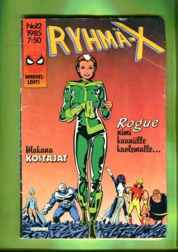 Ryhmä-X 12/85 (X-Men)