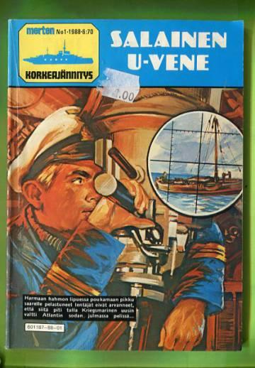 Merten korkeajännitys 1/88 - Salainen U-vene