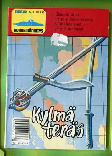 Merten korkeajännitys 11/90 - Kylmä teräs