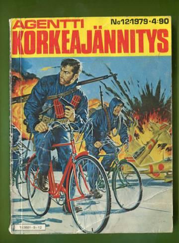 Agentti Korkeajännitys 12/79