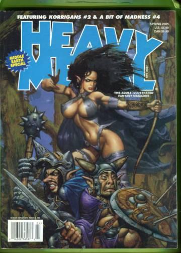 Heavy Metal Vol 19 #1 Spring 2005