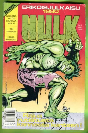 Hulk-erikoisjulkaisu 1/90