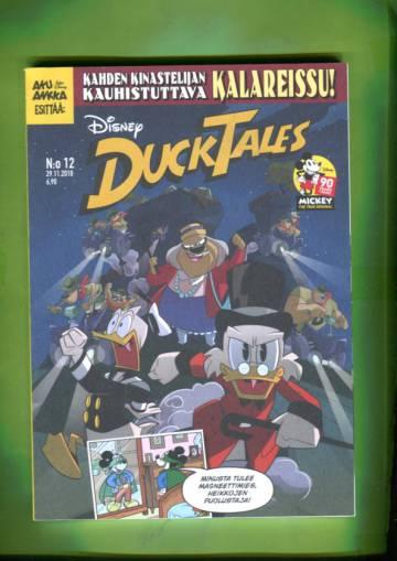 Ducktales 12/18 - Kahden kinastelijan kauhistuttava kalareissu! (KUNTO!!)