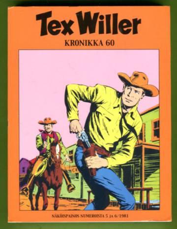 Tex Willer -kronikka 60 - Ryöstömurhaajat/Keltainen koira