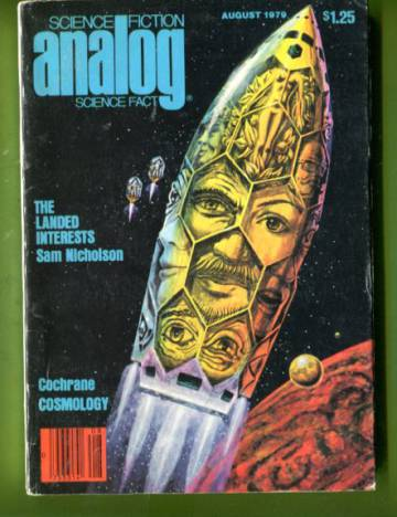 Analog Science Fiction / Science Fact Aug 79