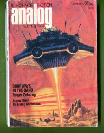 Analog Science Fiction / Science Fact Jun 75
