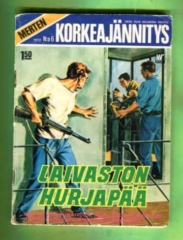 Merten korkeajännitys 6/72 - Laivaston hurjapää