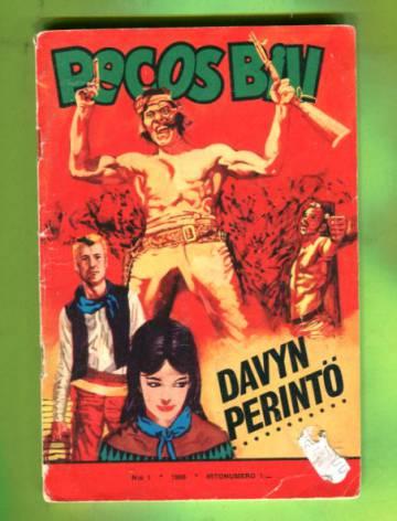 Pecos Bill 1/66 - Davyn perintö