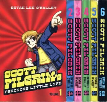 Scott Pilgrim Vol 1-6 (Whole serie)