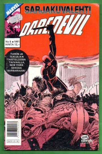 Sarjakuvalehti 5/91 - Daredevil
