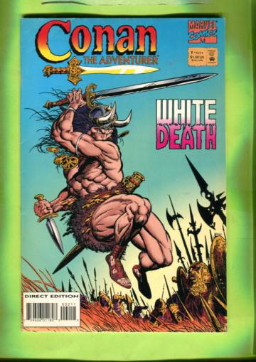 Conan the Adventurer #2 Jul 94