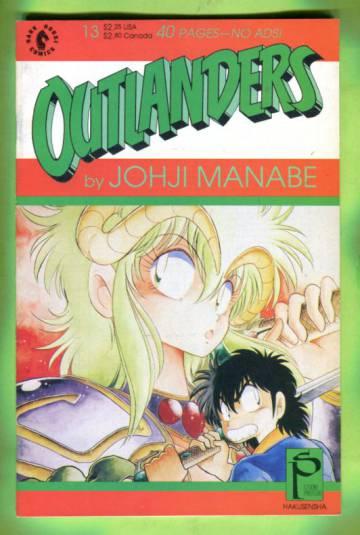 Outlanders #13 Jan 90