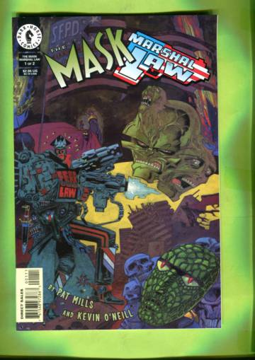 The Mask / Marshal Law #1 Feb 98
