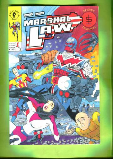 Marshal Law: Secret Tribunal #1 Sep 93