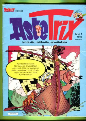 Asterix esittää AsteTrix 1/83