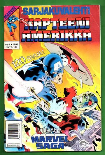 Sarjakuvalehti 4/91 - Kapteeni Amerikka