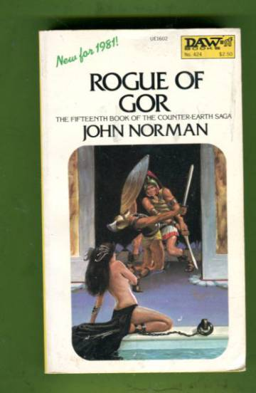 Rogue of Gor - The Fifteenth Book of the Counter-Earth Saga