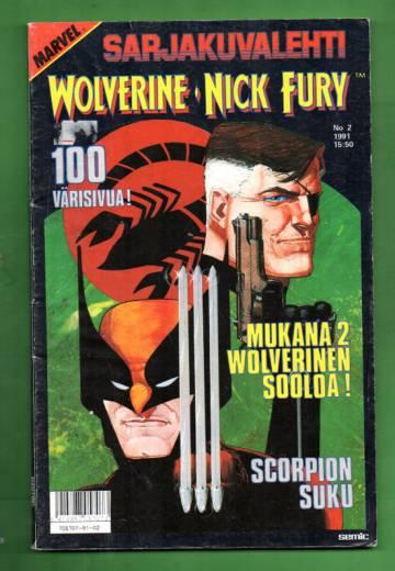Sarjakuvalehti 2/91 - Wolverine & Nick Fury