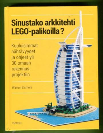 Sinustako arkkitehti Lego-palikoilla?