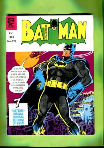 Batman -lepakkomies 1/68