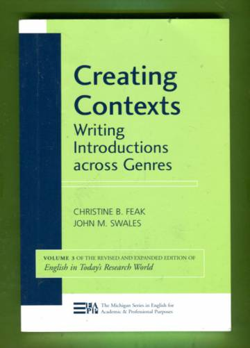 Creating Contexts - Writing Introductions across Genres