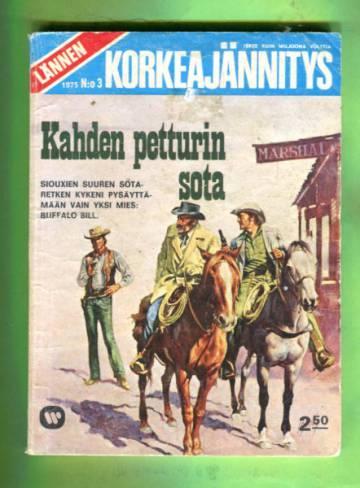 Lännen Korkeajännitys 3/75 - Kahden petturin sota
