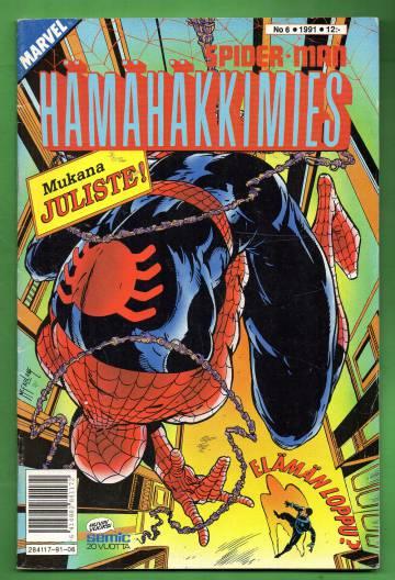 Hämähäkkimies 6/91 (Spider-Man) + JULISTE